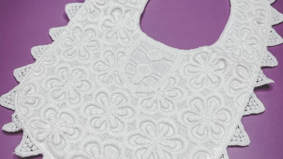 Lace Dribble Bib