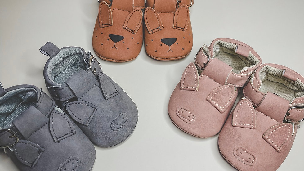 Pig Baby Shoe