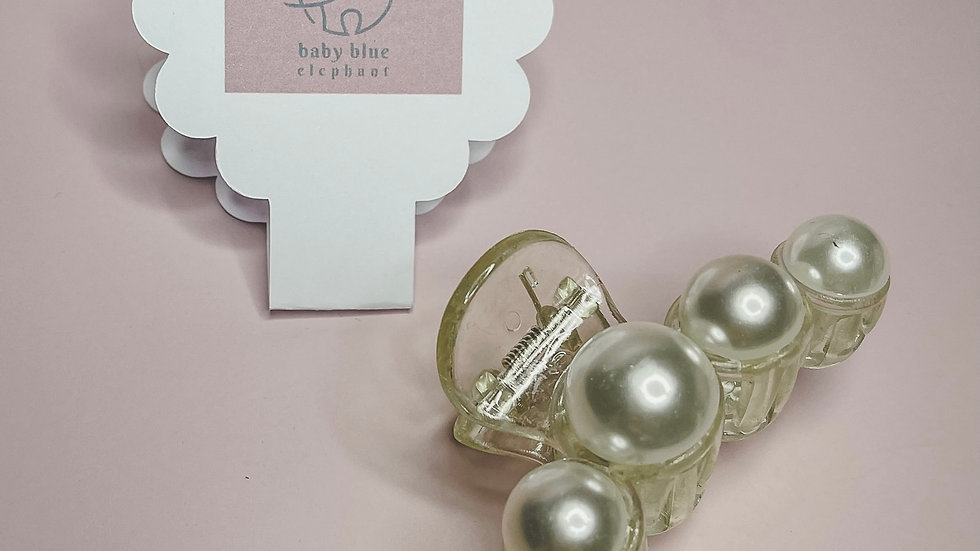 Pearl Claw Clip - Large
