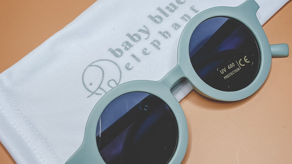 Retro Blue Sunglasses