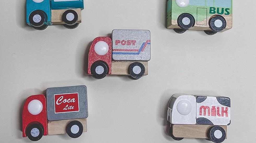 Variety Wooden Toy Car Set
