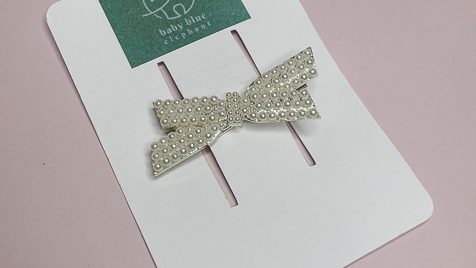 Pearl Gold Bow
