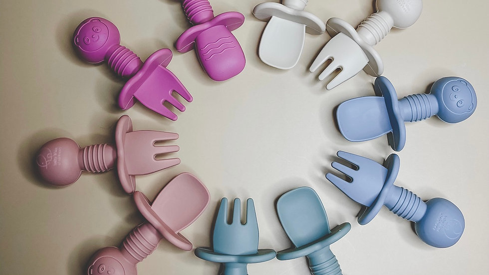 Baby fork & spoon set