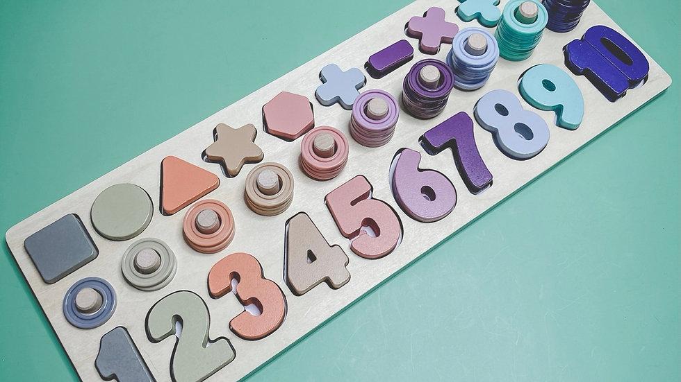 Montessori Number Toy