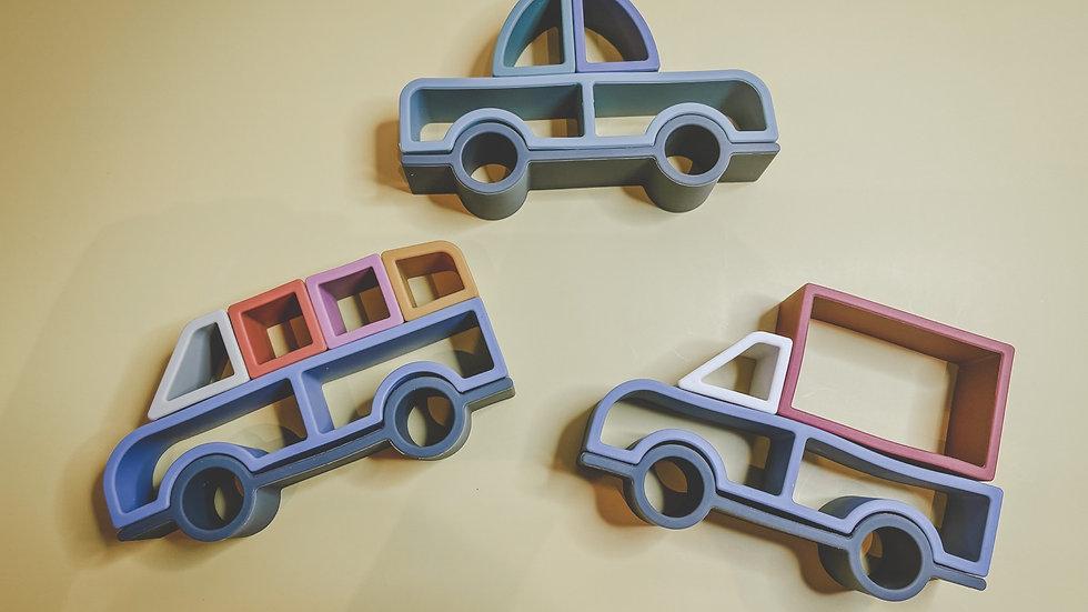 Toy Car Puzzle Set