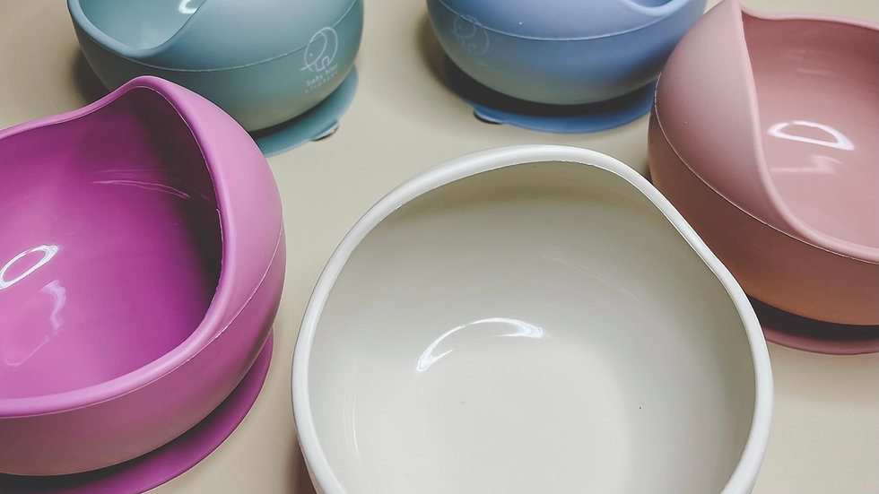 Silicone Shell Suction Bowl