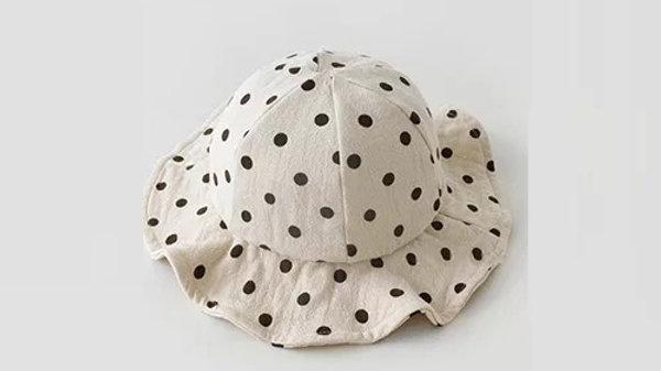 Polka Dot Bucket Hat
