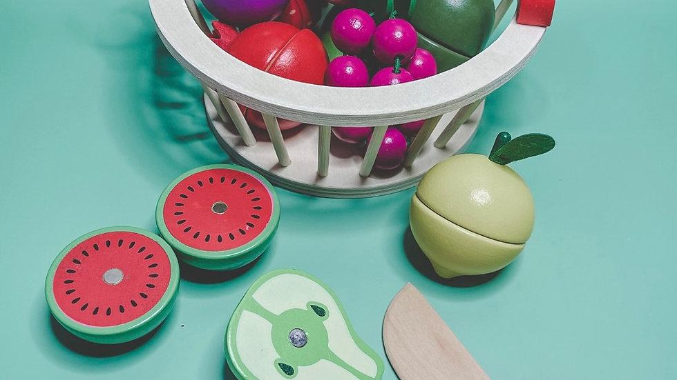 Shopping Basket Food Set