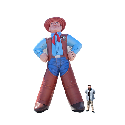 Inflatable Cowboy