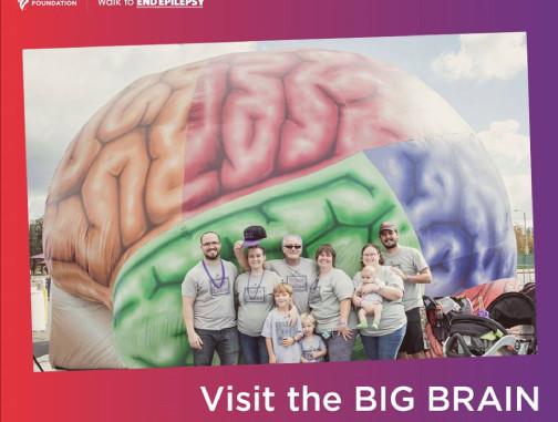 Replica Inflatables: 22'x22' Brain Tunnel Epilepsy Foundation