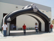 30' Adidas Football Archway