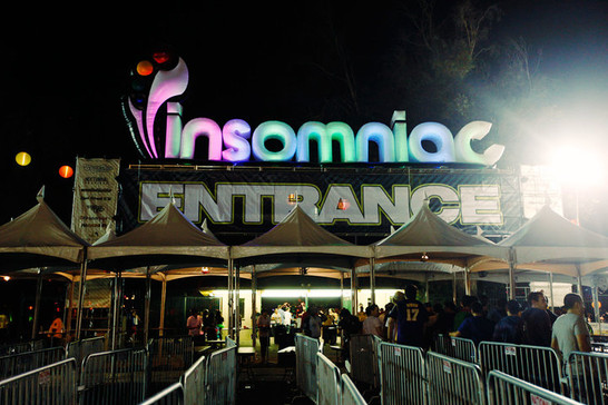 30' Sign for Insomniac