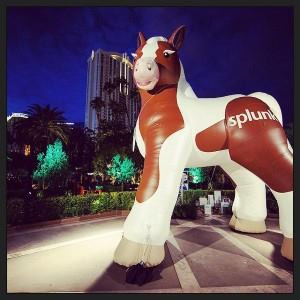 Splunk's Buttercup Inflatable