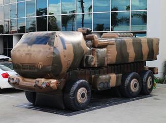 military truck replica