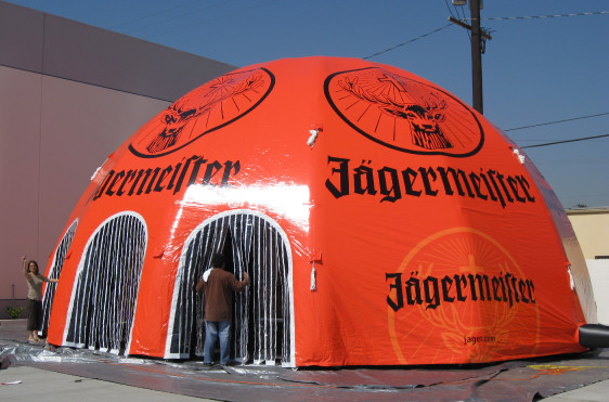 Inflatable Domes - Jagermeister