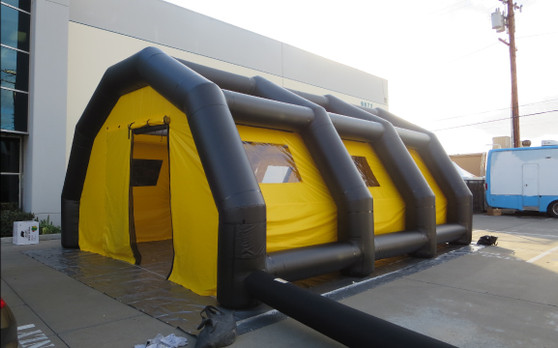 Inflatable Tents - U.S. Army