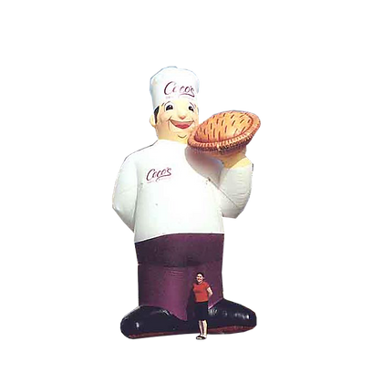 Inflatable Chef