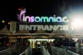 Insomniac sign | inflatable sign