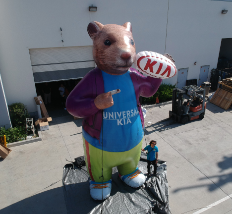 KIA-custom-inflatable-hamster
