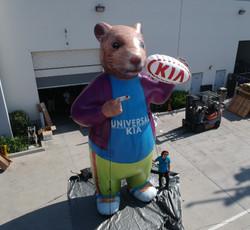 KIA-custom-inflatable-hamster