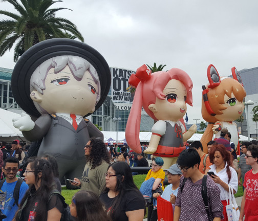 Inflatable Characters: Anime Expo