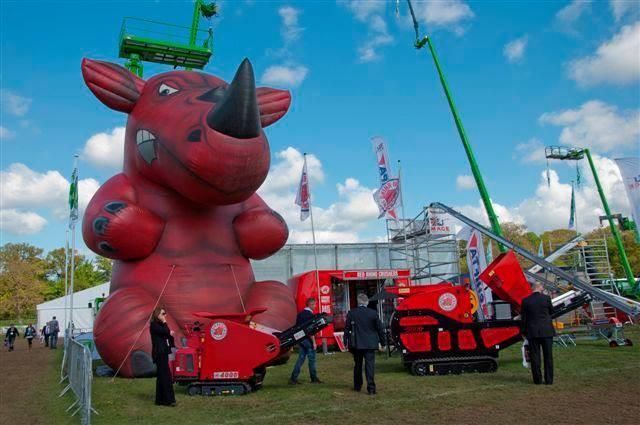 Giant Red Rhino