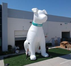 Custom-Inflatable-Fido-Dog 25 feet