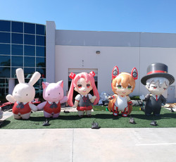 anime-expo-inflatable-characters