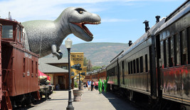 Giant T-Rex Replica