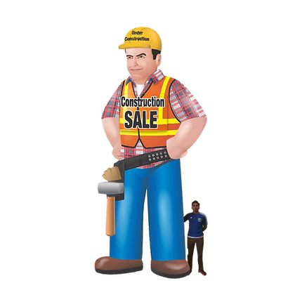 Inflatable Construction Worker