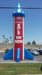 25' Rocket for Toyota