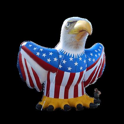 Inflatable Patriotic Eagle