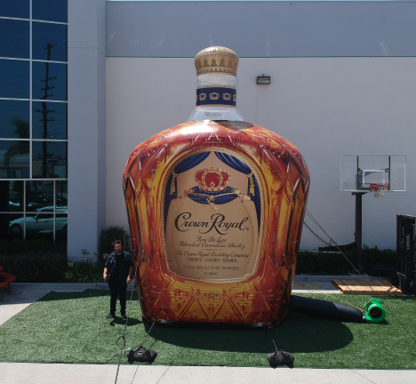 Inflatable-Crown-Royal-bottle-