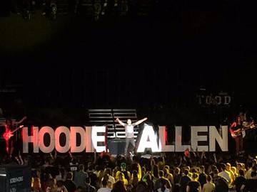 Hoodie Allen Stage Props
