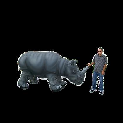 Inflatable Safari Rhino