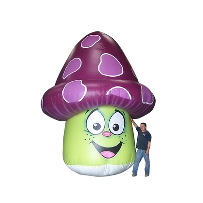 Inflatable Mushroom (with Face)