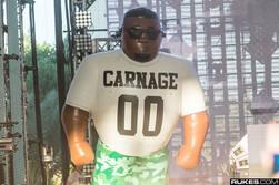 15' DJ Carnage Stage Prop
