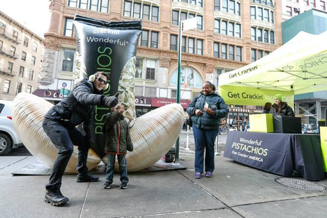 12' Wonderful Pistachio Inflatable