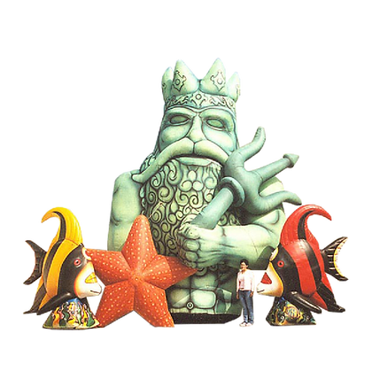 Inflatable King Neptune