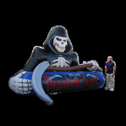 Inflatable Grim Reaper