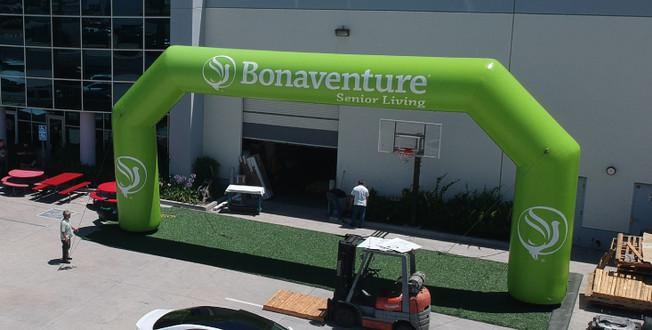 Inflatable Arches - Bonaventure Senior Living