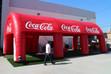 Inflatable Tents - Coca Cola
