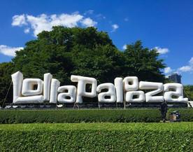 25' Lollapalooza Sign