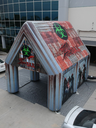 Inflatable Tents - Zombie Bar tent with Custom Graphics