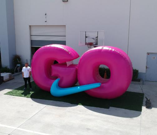 Replica Inflatables: Nike GO Logo Wide