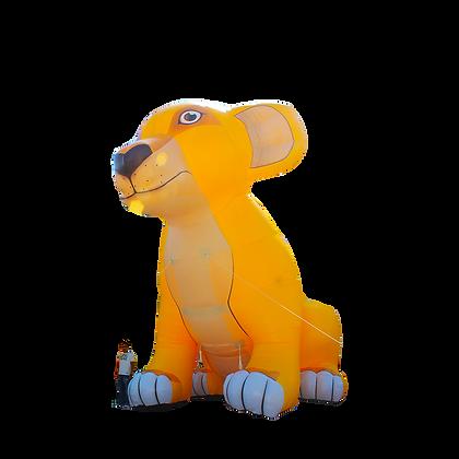 Inflatable Lion Cub