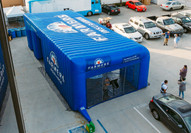 Inflatable Tent - Farmer's Insurance