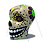 Thumbnail: Inflatable Day of the Dead Skull