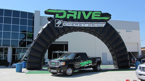 40' Arch: Drive Energy Drink
