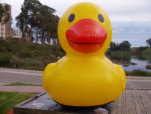 8' Rubber Ducky